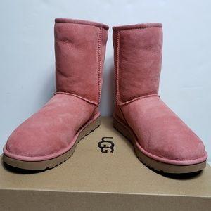 UGG Classic Short II Pink Boots 1016223